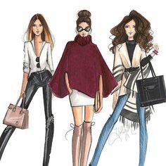 Fall fashion art