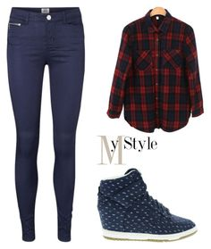 """""""Untitled #1136"""" by mihai-theodora ❤ liked on Polyvore featuring Vero Moda and NIKE"""