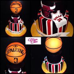 - Chicago bulls cake