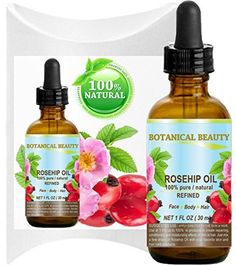 ROSEHIP OIL 100 Pure  Natural Refined  Undiluted for Face Body Hair and Nail Care 1 Floz 30 ml >>> ** AMAZON BEST BUY -affiliate link** #WarehouseDeals Personal Care