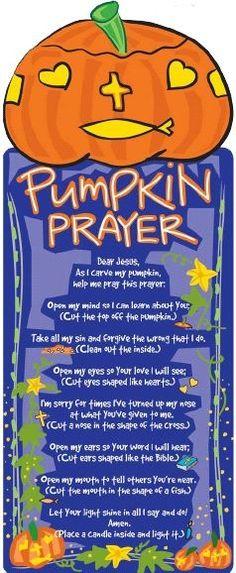 Pumpkin Prayer to sa