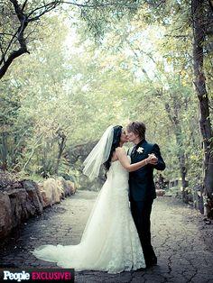 john rzeznik wedding   Photo Special Goo Goo Dolls's John Rzeznik's Romantic, Woodsy Wedding