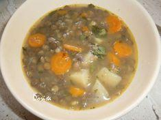Šošovicová polievka bez zápražky