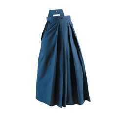 Century Hakama Pants c032 Hakama Pants Pleated skirtlike trousers historically worn by Samurai to hide leg movements and give the illusion of floating. Koshiato in back attaches ties for fit at waist.
