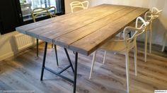 lankkupöytä,ruokapöytä,tuoli