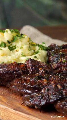 Beef Recipes, Cooking Recipes, Healthy Recipes, Beef Dishes, Meat Dish, Comida Diy, Skirt Steak, Diy Food, Food Hacks