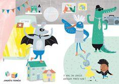 Birthday Party, by Sandrine Monnier