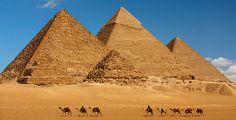 Berço das civilizações mais antigas do mundo, nação de tesouros extraordinários e experiências fabulosas temperadas com luxo. Conheça as famosas pirâmides de Gizé, uma das sete maravilhas do mundo, as mesquitas e o colorido bazar Khan El - Kalili do Cairo e o venerado Vale dos Reis e das Rainhas com suas magníficas tumbas, escavadas nas rochas do deserto. Embarque num cruzeiro pelo Nilo, para testemunhar a vida em torno deste lendário rio.