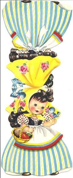 Dutch girl card