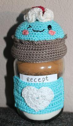 Patroon Dekselse Cupcake              Benodigdheden    Garen (Catona van Scheepjes): wit, bruin, 1 kleur naar keuze (ik heb blauwgebruikt)...