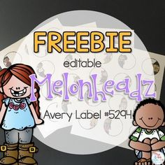 Keep your classroom organized with these editable Melonheadz themed classroom labels. These circles measure in size, giving you the perfect circle label when printed on Avery Label Use PowerPoint to edit each of the 48 labels. Print and organize! 3rd Grade Classroom, Kindergarten Classroom, School Classroom, Classroom Themes, Classroom Labels Free, Free Teaching Resources, Teacher Resources, Teaching Kids, Self Contained Classroom