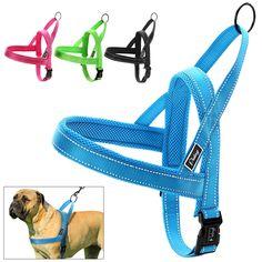 No Pull Nylon Quick Fit Reflective Stitching Dog Harness Vest XXS XS S M L XL  #Didog