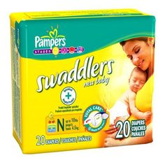 #Pampers #Swaddlers Diapers Economy Pack Plus Size 1, 234 Count (Packaging May #Vary)   never had a leak.   http://amzn.to/HgupSw