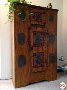 gotische truhe in buchs kaufen bei antiques. Black Bedroom Furniture Sets. Home Design Ideas