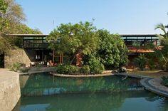 A beautiful contemporary house located in Alibaug, a coastal town in the Konkan region of Maharashtra