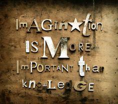 Imagination & Knowledge