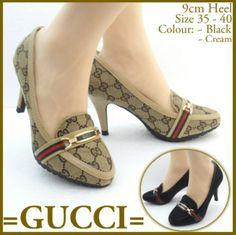 L 4598 Gucci Heels 9cm Cream 36 210rb