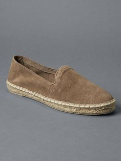 Suede loafer espadrilles Product Image