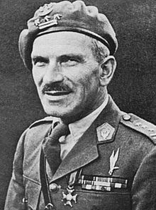 Major General Stanisław Franciszek Sosabowski was a Polish general in World War II. He fought in the Battle of Arnhem (Netherlands) in 1944 as commander of the Polish 1st Independent Parachute Brigade.