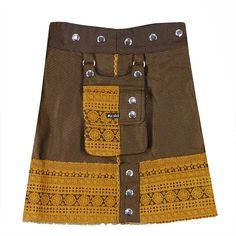Moshiki #skirt - Walnut Pie - Skirt length 40 cm. - reversible -  » visit Pocaido Rock Shop for these #skirts by the picture-link.  #Moshiki #HotCookie #Wrapskirt #Wickelrock #Wenderock #Cacheur #Rock #clothing #fashion #moda #Mode #Style #Summer