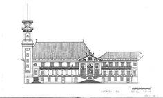 Paços da Universidade de Coimbra.