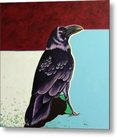The Gossip - Raven Art Print by Joe Triano. All prints are professionally printed, packaged, and shipped within 3 - 4 business days. Crow Art, Raven Art, Native Art, Native American Art, Buffalo Painting, Raven And Wolf, Crows Ravens, Thing 1, Southwest Art