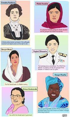 Revolutionary Women in Politics. Revolutionary Women in Sports. Revolutionary Women in the Arts. Great Women, Amazing Women, Buch Design, Feminist Art, Intersectional Feminism, Women In History, Famous Women, Girls Be Like, Revolutionaries