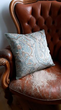 White And Blue Paisley Decorative Pillows | Retro Vintage Paisley Lace And  Swirls Pattern Design Blue And White ... | For The Home | Pinterest | Swirl  ...