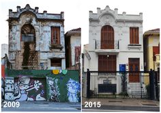 Then and Now: House in Sao Paulo, 2009 and 2015
