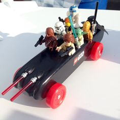 Vote for your favorite car in Pinewood Derby at Outdoor Retailer