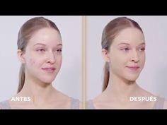 Maquillaje exprés para pieles grasas con acné por Natalia Belda | TU PIE...