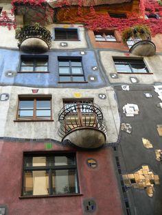 Hunderwasserhauss, Viena, Austria