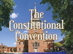 Beautiful PowerPoint lesson on the Constitutional Convention and the Constitution!