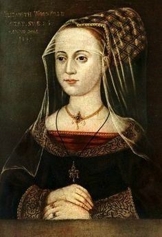 Elizabeth Woodville (1437- 8 June 1492). Her marriage to Edward IV was a cause célèbre of the day, thanks to Elizabeth's great beauty and lack of great estates.Her marriage greatly enriched her siblings and children, but their advancement incurred the hostility of the Earl of Warwick, which resulted in his joining the Lancastrian cause. Elizabeth remained politically influential even after Edward's death and she would play an important role in securing Henry VII's accession to the throne.