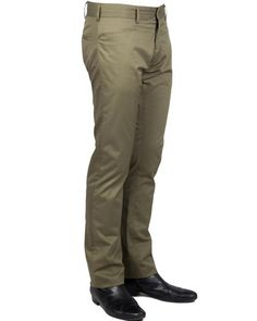 NEIL KNIFE POCKET // OLIVE CHINO:  THE HOLY GRAIL of casual dress pants.  A 60's style horizontally cut pockets, a slim straight leg, a lower rise, and made in a tight compact weave makes the Neil a modern chino with a dressy feel.  Perfect for office-to-stage to Red Carpet to weekend looks.