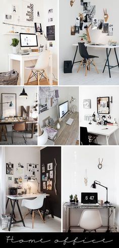 You won't mind getting work done with a home office like one of these. See these 20 inspiring photos for the best decorating and office design ideas for your home office, office furniture, home office ideas Home Office Space, Home Office Design, Home Office Decor, House Design, Home Decor, Office Ideas, Office Furniture, Small Office, Office Designs