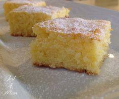 Lemon Coconut Slice – Just a Mum