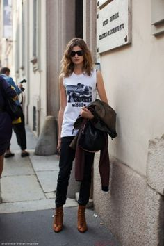 The Chic Life of the Graphic Tee