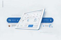 LiquidPro UI Kit - Free Download on Behance