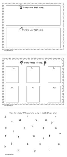 Freebielicious: Stamping Freebie for Back to School