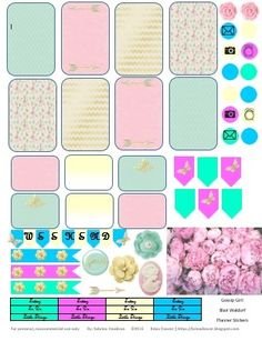 Sabrina Davidson: Free Gossip Girl Planner Stickers: Blair Waldorf