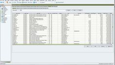 Inventory management feature of BzComposer ERP program