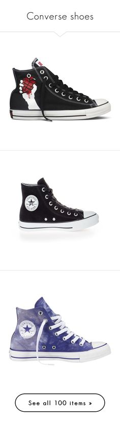 """""""Converse shoes"""" by hannahstewart111 ❤ liked on Polyvore featuring shoes, sneakers, converse, green day, green shoes, converse footwear, converse shoes, sapatos, chaussures and black suede shoes"""