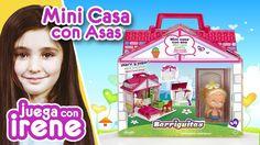 ♥ Juega con IRENE ♥ Barriguitas: Mini Casa con Asas