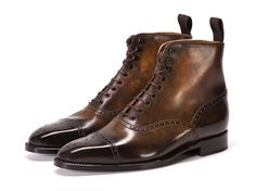 Dandy Shoe Care and J.Fitzpatrick Footwear collaboration Patina