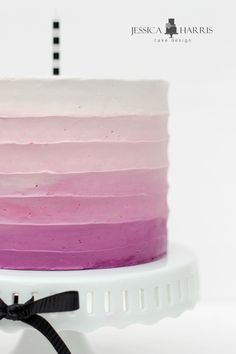 If you need some buttercream cake inspiration for ombre buttercream cakes or modern stylish cakes, look no further!!! I've even got a few videos to share with you!