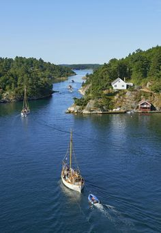 Blindleia in Lillesand Southern Norway