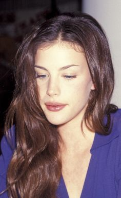Liv Tyler. She looks like an elf in real life!
