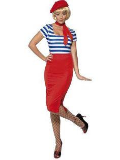 Blue Pan Am Air Hostess Stewardess Suit UK 6-24 Ladies Fancy Dress Costume
