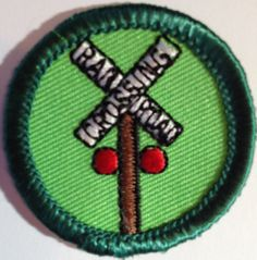 Railroading, Pines of Carolina (have it) Girl Scout Council, Girl Scouts Usa, Girl Scout Patches, Girl Scout Badges, Stitches, Sewing Stitches, Needlework
